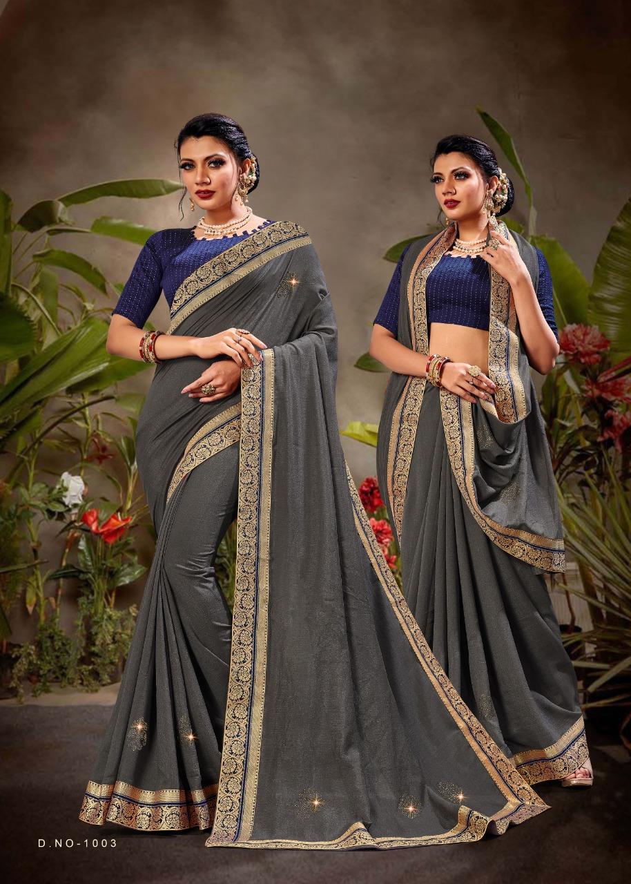 Ranjan  presents Flavour Festive Wear Silk Saree Collection