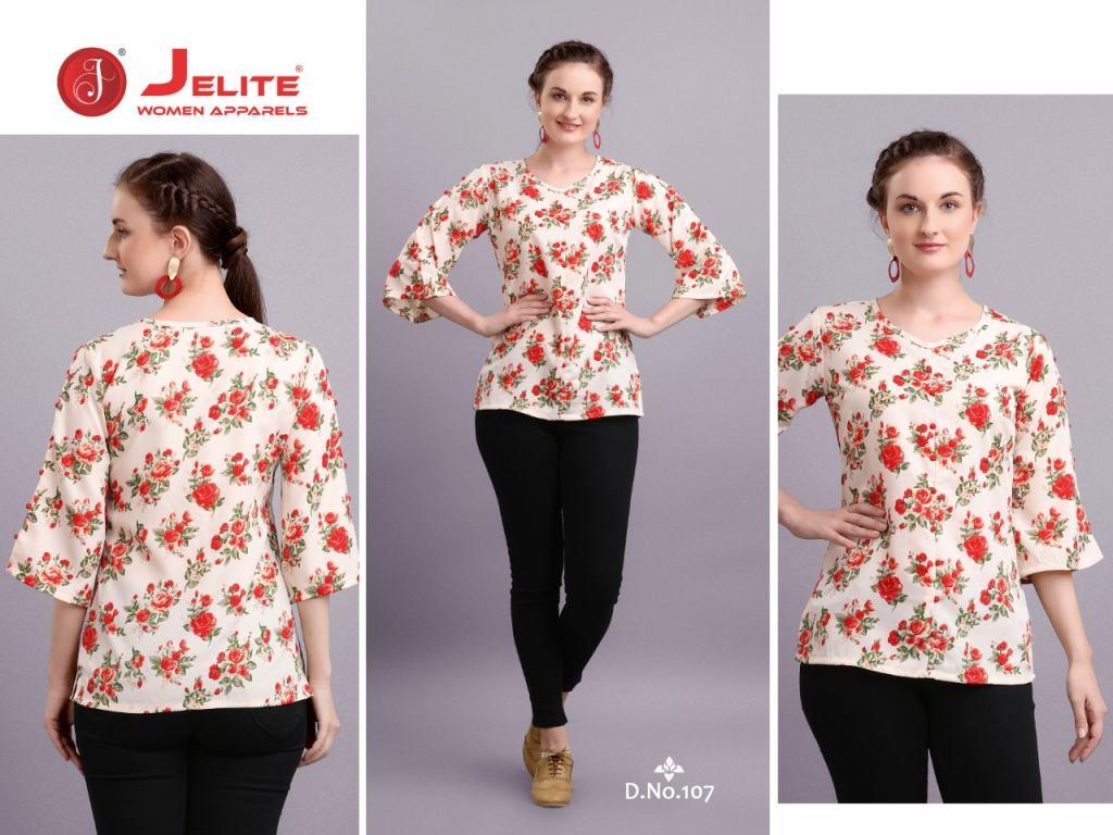 Jelite presents Tulip Stylish Western Top Collection
