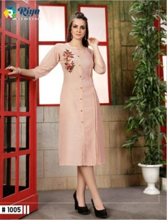 Anishka By Riya Designer Casual Wear Kurti Collection