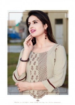 Cambridge by mitto designer long kurtis collection