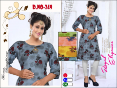 Fc presents Colors vol 14 Casual Wear Kurti Collection