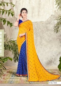 Sathiya  Casual Wear Saree Collection