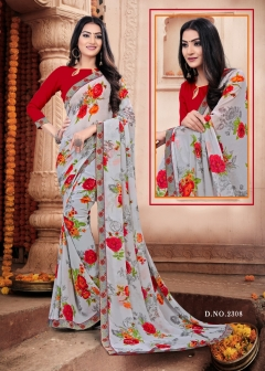 Fc presenta Mahak  Casual Wear Saree Collection
