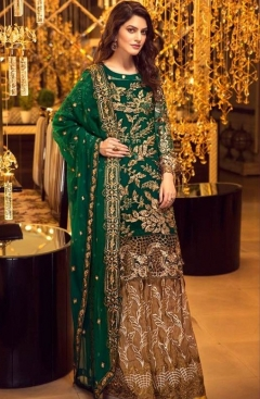 Charizma Present Mariyaam N Maria Wedding Wear Pakistani Salwar Suits Catalogue