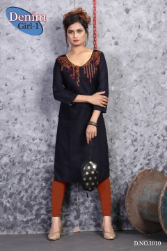 Denim Girl Vol 1 Kurtis Catalog
