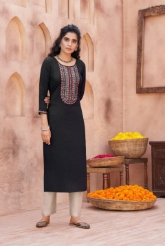 Kalaroop presents  Pili  vol 2  Fancy Designer Kurtis Collection