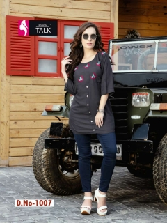 Fashion talk  present Kvisaa Heavy Rayon Short Top Collection
