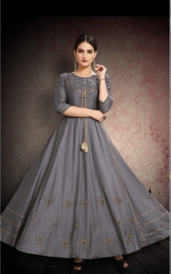 Fiesta present mindhal festival wear long kurtis collection.