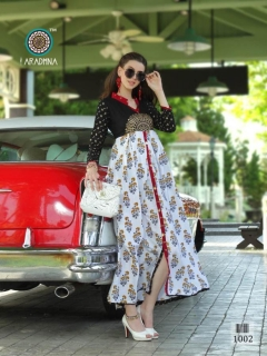 Glamour By Aradhna Heavy Rayon Party Wear Kurtis Catalogue