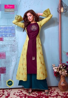 Globus City vol 2 by diya trends Designer Kurti With Shrug & Bottom collection