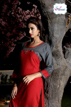 Hot Dream Rayon Kurtis
