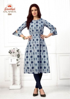 Kalapriya by Sandhya Pure Cotton Printed Kurtis catalogue