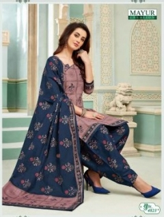 Khushi Vol  48 By Mayur Printed Cotton Dress Material Catalogue