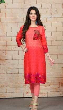 Kissmiss Nx By Watermelon Printed Rayon Kurtis Collection