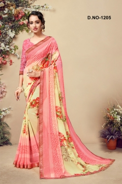 Kodas Present Shadow Running Wear Saree Collection