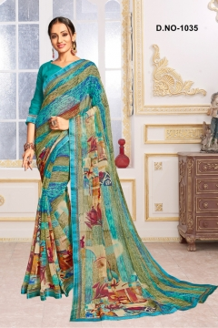 kodas present Shanvika vol 3 Casual Wear Sarees Catalogue