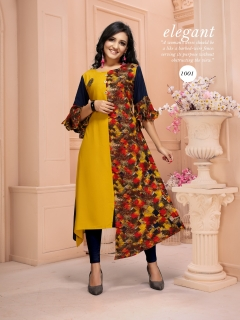 M Reva By Kinti Designer Kurtis Catalogue