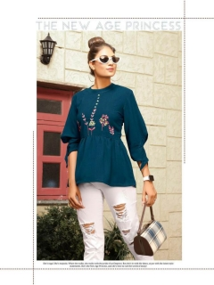 Memsaab By Fab Western Short Top Collection
