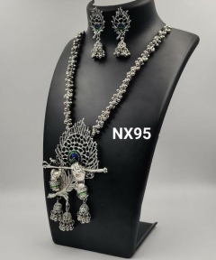 Peacock Feather Diamond Necklace Jewellery India Online