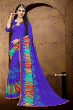 Haytee Gmail 86 Dani Printed Saree Collection