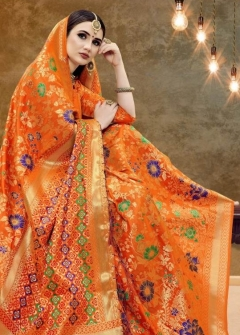 Psyna By Ynf Banarasi Art Silk Sarees Collection