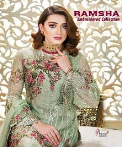 Ramsha Embroidered Collection