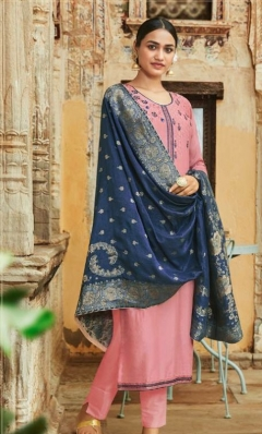 Sanna By Sanskruti Designer Silk Salwar Suit Collection
