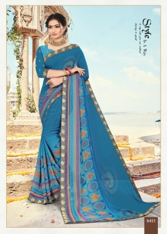 Sitka presents Blue Eyes vol 21 Regular Wear Sarees Collection