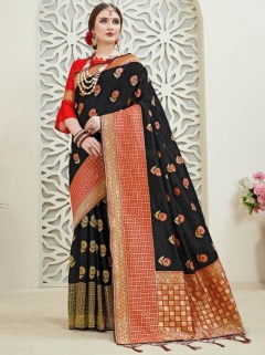 Titan Vol 8 By Ynf Banarasi Silk Saree Collection
