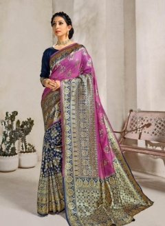 Vaibhavi By Saroj Banarasi Silk Designer Sarees Collection