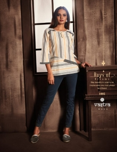 Vastra Moda Present Florenzo Vol-1 casual Wera Short Top Collection