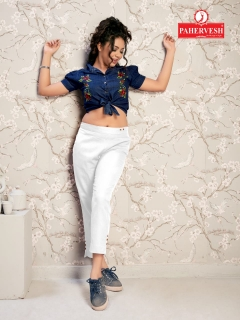 Venus By Pahervesh Cotton Flax Pant Collection