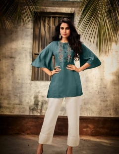 Vivid by vastrika Designer Western Top Catalogue