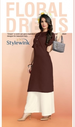 maharani by  stylewink cotton kurtis with plazzo collection