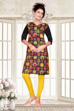 piyu Vol 1 cotton kurtis catalog